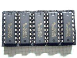 画像1: 74HC4046A 定番PLL用IC TI製 5個
