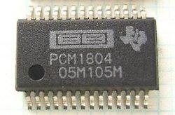 画像1: PCM1804DB 24bitステレオADC(A/Dコンバーター)