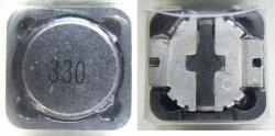 画像2: 面実装パワーインダクター(コイル) CDRH127 33uH 3.5A 4個