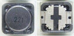 画像2: スミダ製 面実装パワーインダクター(コイル) CDRH127 220uH 1.3A 4個
