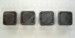画像1: スミダ製 面実装パワーインダクター(コイル) CDRH125 10uH 4A 4個