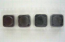 画像1: スミダ製 面実装パワーインダクター CDRH127 22uH 4.2A 4個