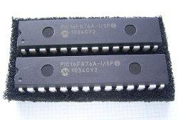 画像1: マイコン PIC16F876A-I/SP 2個