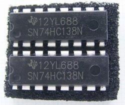 画像1: SN74HC138N 3to8 ラインデコーダー ロジックIC 2個