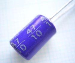 画像2: SANYO OS-CON OSコンデンサー10V 47uF 10個
