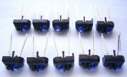 画像1: 反射型フォトセンサ(光センサー) ビシェイ TCRT5000 10個