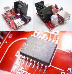 画像3: 再販! ADUM4160 アイソレーター(絶縁)基板  USB接続の計測器やオーディオ装置用
