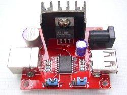 画像1: 再販! ADUM4160 アイソレーター(絶縁)基板  USB接続の計測器やオーディオ装置用