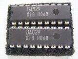 ローム製 シリアルイン/パラレルアウトIC BA829 2個