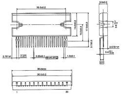 画像3: 東芝製 ステッピングモータドライバIC TB6560AHQ
