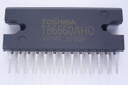 画像1: 東芝製 ステッピングモータドライバIC TB6560AHQ