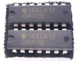 画像1: CD4001BE CMOS NORゲート  ロジック・デジタルIC 2個