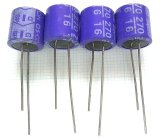 OS-CON OSコンデンサー16V 270uF(SPシリーズ) 4個