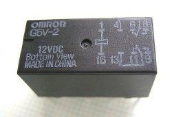 画像1: オムロン プリント基板用小型リレー G5V-2 DC12V