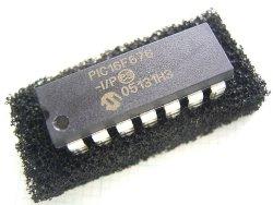 画像1: 電子ボリューム用 マイコンPIC16F676 プログラム書き込み済