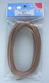 OFC 無酸素銅 スピーカーケーブル  透明 1.25sq 5m
