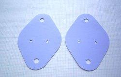 画像1: TO-3(メタルカンパッケージ)用 絶縁シート  2個