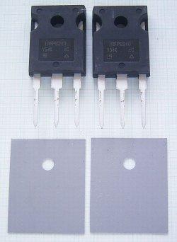 画像1: 200V 20A 150W PchパワーMOS-FET IRFP9240 2個