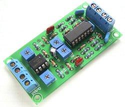 画像1: アナログ VUメーター 駆動基板 完成品