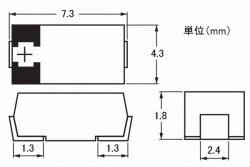 画像3: POSCAP 高分子タンタル固体コンデンサ 2.5V 330uF 10個 プロードライザ代替部品でも使えます