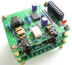 画像5: 電子ボリューム用 CPU(マイコン)基板