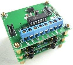 画像4: 電子ボリューム用 CPU(マイコン)基板