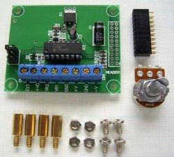 画像1: 電子ボリューム用 CPU(マイコン)基板