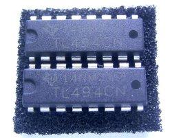 画像1: スイッチング・レギュレーター コントローラー TL494CN 2個