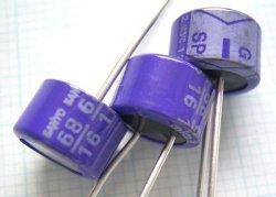 画像2: OS-CON(OSコンデンサー)16V 68uF SPシリーズ  4個
