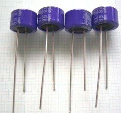 画像1: OS-CON(OSコンデンサー)16V 68uF SPシリーズ  4個