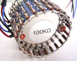 画像3: Dale抵抗 100kΩ2連24ポイントラダー・アッテネーター