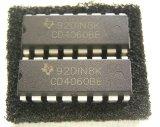 CD4060BE 発振回路内蔵 14ステージ・カウンタ/オシレーターIC 2個