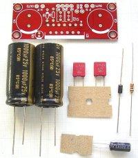 TDA1552Q用 ステレオ・アンプ  パーツセット ※IC無し