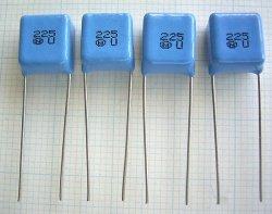 画像1: ニッセイ電機 MMT積層フィルムコンデンサー 50V 2.2μF 4個