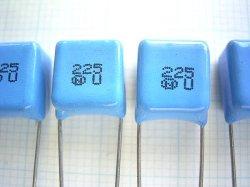 画像2: ニッセイ電機 MMT積層フィルムコンデンサー 50V 2.2μF 4個