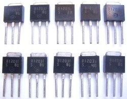 画像1: 2SB1203 大電流スイッチングトランジスタ  50V 5A 10個