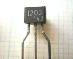 画像2: 東芝製 NPN型 22kΩ内蔵 デジタルトランジスター RN1203 10個
