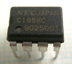 画像1: NEC製 低雑音 高周波広帯域増幅器 uPC1658C