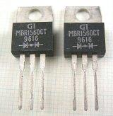 カソードコモンショットキーダイオード MBR1560CT 60V 15A 2個