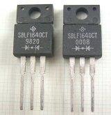 カソードコモンショットキーダイオード SBLF1640CT 40V 16A 2個