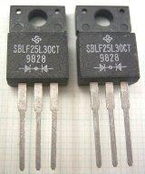 カソードコモンショットキーダイオード SBLF25L30CT 30V 25A 2個