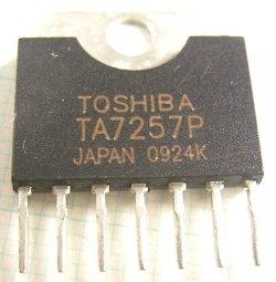 画像1: 東芝製 DCモーター用 フルブリッジドライバ(Hスイッチ)TA7257P