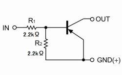 画像3: ローム製 PNP型 2.2kΩ・2.2kΩ内蔵 デジタルトランジスター DTA123ESA 10個