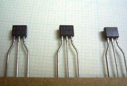 画像2: ローム製 PNP型 2.2kΩ・2.2kΩ内蔵 デジタルトランジスター DTA123ESA 10個