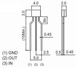 画像4: ローム製 PNP型 47kΩ・47kΩ内蔵 デジタルトランジスター DTA144ESA 10個
