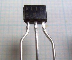 画像2: ローム製 NPN型 10kΩ・10kΩ内蔵 デジタルトランジスター DTC114ESA 10個
