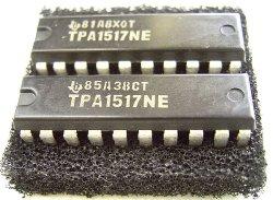 画像1: TPA1517NE 6W+6W(4Ω) ステレオパワーアンプIC 2個