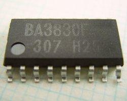 画像1: オーディオ用 6バンド スペクトラム・アナライザIC BA3830F