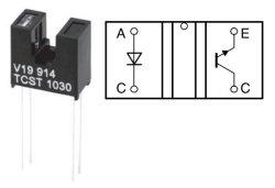 画像2: 透過型フォトセンサ(フォトインタラプタ) TCST1030 2個
