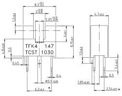 画像3: 透過型フォトセンサ(フォトインタラプタ) TCST1030 2個